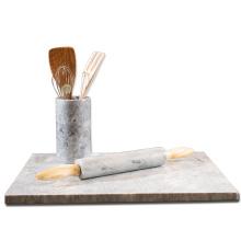 Placa de serviço de corte de mármore 40x30cm