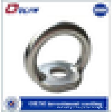 Peças sobressalentes de hardware de fundição de precisão polida em aço inoxidável personalizado