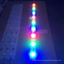O anúncio publicitário customizável assina a luz conduzida RGB do módulo da borda do luminoso
