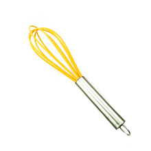 2019 new colorful Stainless steel egg matcha whisk