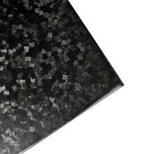 Placa de tela de carbono picado forjado al por mayor completo