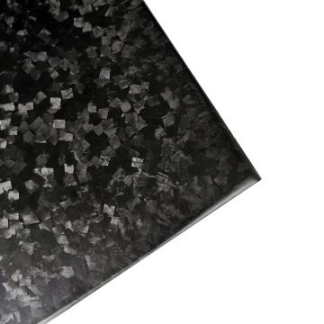 Großhandel voll geschmiedete gehackte Carbon-Gewebe-Platte
