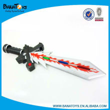 Space plastic kid toy sword sale with light and sound