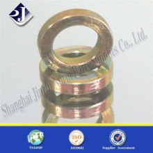 High strength gasket plated yellow zinc