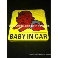 10cm X 10cm Reflective Car Sticker En13356