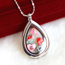 Personifizieren Sie Locket Halsketten-Schmucksache-Art- und Weiseanhänger
