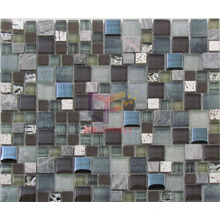 Modern Design Glass with Stone Mosaic (CS260)