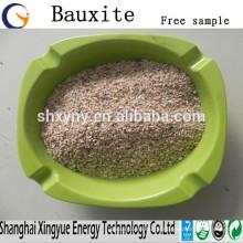 Verschiedene verkaufen Bauxit Erz Grad 60-88% Al2O3 kalziniert Bauxit Preis