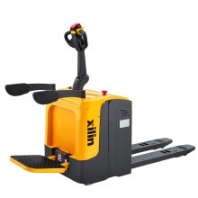 Xilin Hot Sale 2000KG 2Ton 4400lbs Wide Balance Stand-on Type Platform Pallet Truck With  AC motor