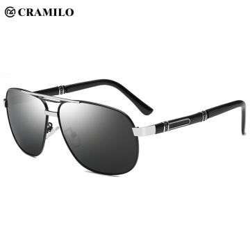 Поляризованные мужские солнцезащитные очки Classic Military класса Premium с защитой от ультрафиолета