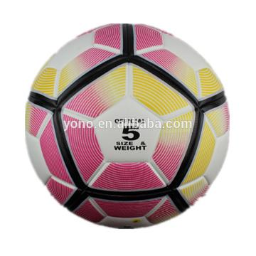 Customize newest designed soccer ball football official sized match ball