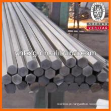 Qualidade superior brilhante recozido hexagonal haste de aço inoxidável