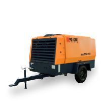 Compresor de aire de tornillo 13bar portátil de motor diesel