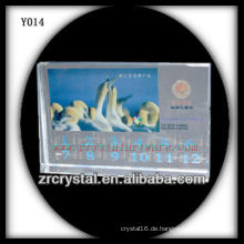 Bunter Druck Foto Kristall Y014