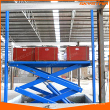 hydraulic lift platform for factory warehouse