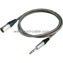 DME Series M XLR to Stereo Jack Microphone Cable