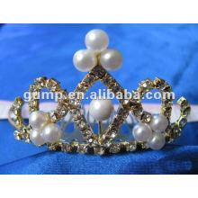 Crstal tiara comb (GWST12-115)