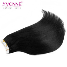 Extension de cheveux de trame de peau de cheveux de 100% humain en vente