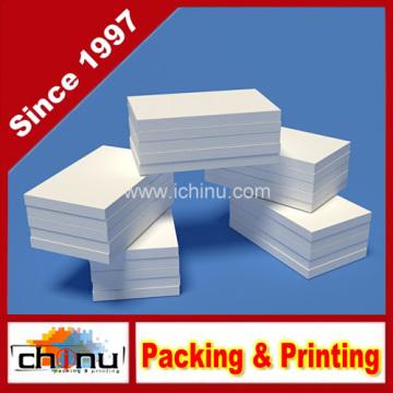 Unruled Plain Blank 3 x 5 polegadas Pocket Memo Pads - Note Pads (440066)