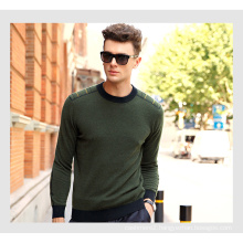 Men′s Cashmere Sweater with Round Neck 16brdm008-1