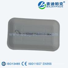 Wegwerfbarer medizinischer Papierbehälter für Japan-Markt