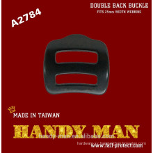 A2784 Aluminum Double Back Adjuster Buckle