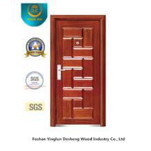 Модный Стиль безопасности стальные двери (б-3028)