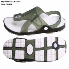 Current Hot Sale New Men Sandals with Eco-Friendly TPE Upper