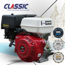 CLASSIC CHINA Cylindre simple OHV Micro moteur à essence 10hp, moteur à essence à arbre universel