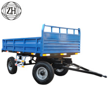 4 Ton Load Capcity Farm Tractor Trailer Price