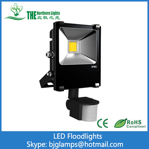 LED Floodlights of Infrared induction