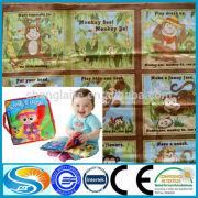 AZO free printed baby fabric sample book