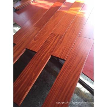 Beautiful Red Wine Balsamo Solid Wood Flooring for Villa