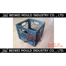 Kundenspezifische Injektion Plastikmilch Crate Mould