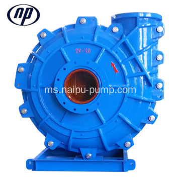 18 inci 5400 m3 / j Metal Slurry Pump Horizontal
