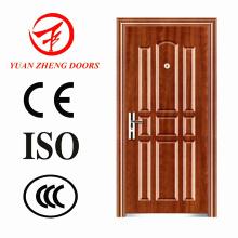 Fornecedor da China Porta de aço barata com alça de porta