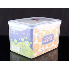 Огромный пластиковый контейнер, ящик для хранения продуктов, 5000мл