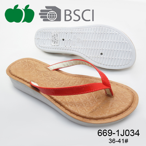Best selling high quality ladies comfortable summer flip flops