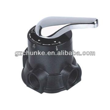 Válvula de filtro manual Runxin Multi Port con buen precio