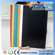 Magnetic Advertising Magnetic Sheets Adhesive Colored Magnetic Sheets