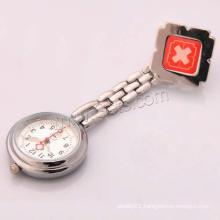 Gets.com zinc alloy bulk purple smile face nurse watch