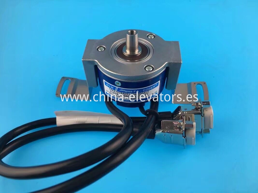 Rotary Encoder for OTIS MRL Elevators OIH76-4096C/T-L2C2-5V