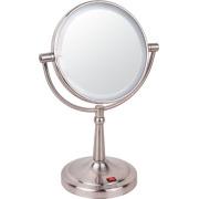 Conduit le miroir lumineux maquillage métallique