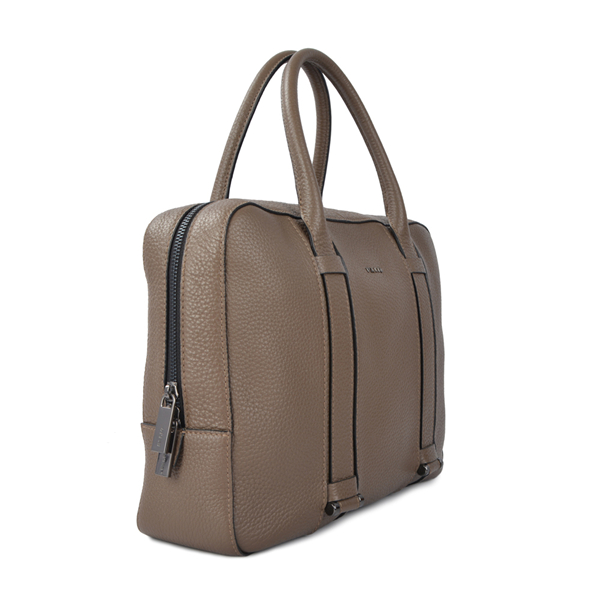 business men calf leather briefcase bag