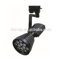 100mm residential lighting spot led track light 12w with black housing