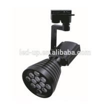 100 milímetros de iluminação residencial spot led track light 12w com caixa preta