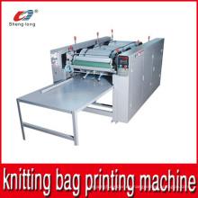 PP plástico que hace punto la máquina de impresión del bolso del arroz