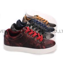 Zapatos de mujer ocio PU zapatos con suela de cuerda Snc-55012
