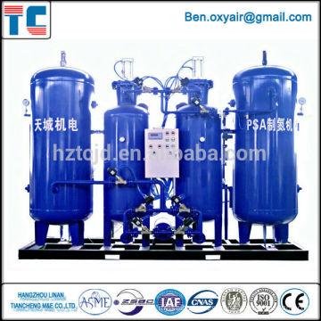 Planta del oxígeno de gas para la estación de gas China fabrica el sistema de PSA