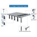 Structure solaire de support de panneau